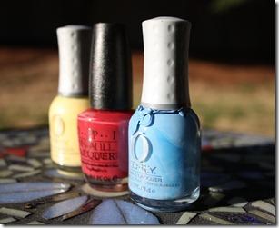 Blue lagoon nails